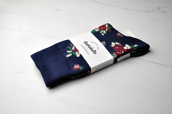 calcetines flores